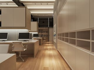 Being Human Office by Ashleys Minimalist