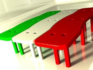 Panchina:  in stile  di Studio L'AB Landcsape Architecture & Building