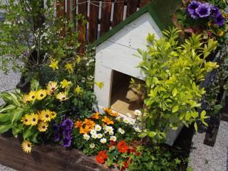 small garden 「散歩に行こう♪」: Green Style Forestが手掛けた庭です。,オリジナル