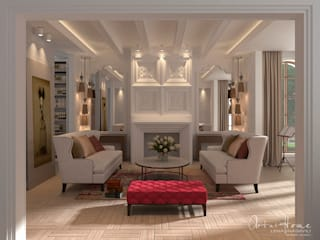 Eclectic style living room by Лена Инашвили Art at Home Eclectic
