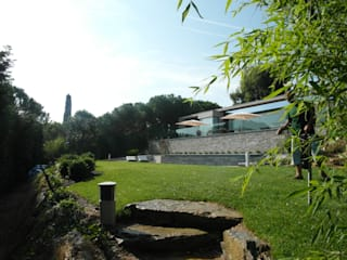 モダンな庭 の GIARDINI VALLE DEI FIORI モダン