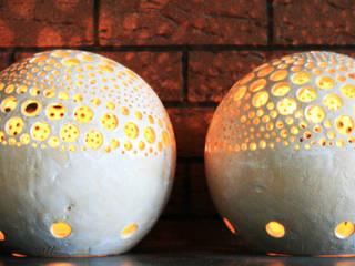 lampion Wnętrze Wulkanu: styl , w kategorii  zaprojektowany przez Aleksandra Mysiorska