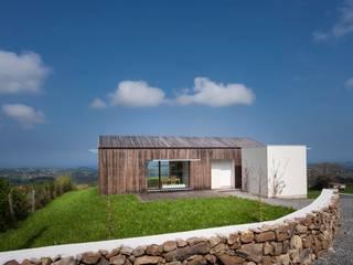 Casa Bioclimática JG Casas de estilo escandinavo de Modulo12 Escandinavo