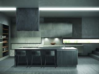Deseo - Helix Terra :  Kitchen by Deseo