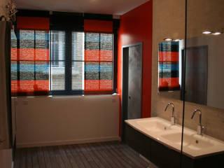 une salle d'eau tonique par agence Métamorphose Moderne