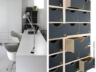 Projekty,  Domowe biuro i gabinet zaprojektowane przez Gwladys PARRA