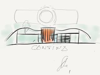 schizzo edificio :  in stile  di Studio L'AB Landcsape Architecture & Building