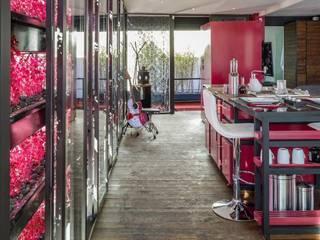 Boutique de Arquitectura (Sonotectura + Refaccionaria) Dapur Modern