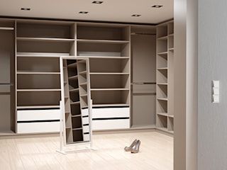 Dressing room by deinSchrank.de GmbH,