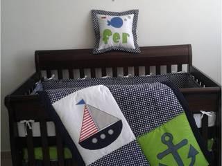 Proyecto Habitación de Bebé Fernando Náutico: Recámaras infantiles de estilo  por Deco Bebé