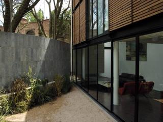 Casa B Jardines modernos de Gaeta Springall Arquitectos Moderno
