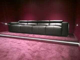 Cinema room sofa:   by Cadira