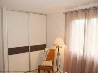 Relooking chambre et meuble Chambre classique par INSO'HOME Décoration Intérieure Classique