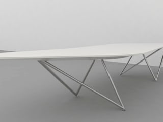 Conference Table Design: modern  by atelier blur / georges hung architecte d.p.l.g., Modern