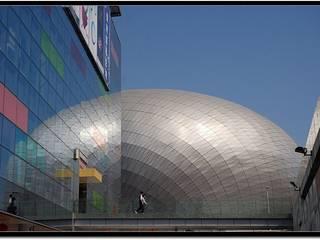 modern  von atelier blur / georges hung architecte d.p.l.g., Modern