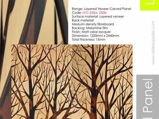 Layered Veneer Carved Panel by series supplies