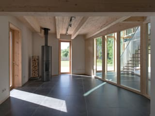 MAISON POUR ALAIN HUBERT par Philippe SAMYN and PARTNERS, architects & engineers Moderne