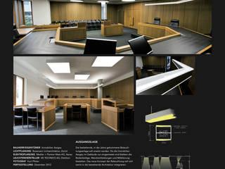 OBERGERICHT AARAU:   von Bussmann Lichtarchitektur