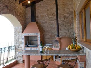 Cocinas de estilo  por Tikkanen arquitetura