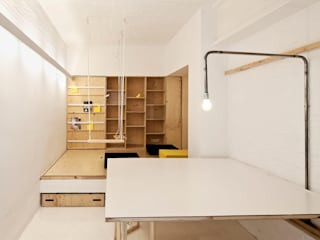 Modern Study Room and Home Office by vora Modern