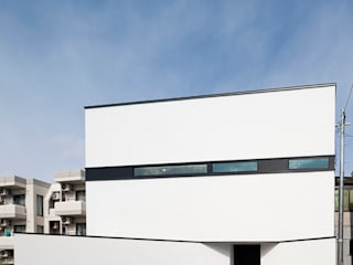 HAKONOOUCHI06 Casas de estilo moderno de 石川淳建築設計事務所 Moderno