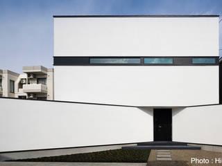 HAKONOOUCHI06 Casas de estilo minimalista de 石川淳建築設計事務所 Minimalista