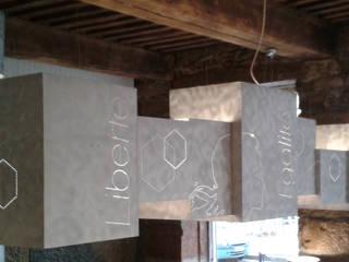 Suspension sur mesure:  de style  par elsa somano objets lumineux