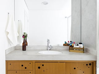 Zoom Urbanismo Arquitetura e Design Eclectic style bathrooms
