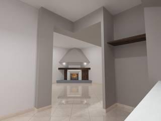 Casa Marcellina Soggiorno eclettico di Antonio Saporito Architettura+design Eclettico