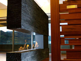 ArquitectosERRE Living roomFireplaces & accessories