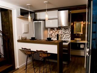 مطبخ تنفيذ Ferraro Habitat,
