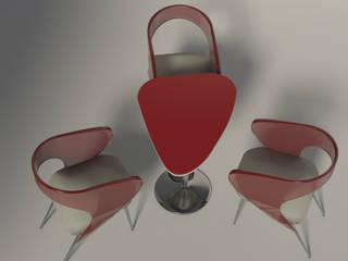 Sedia e Tavolo da caffè :  in stile  di Claudia Casale Design