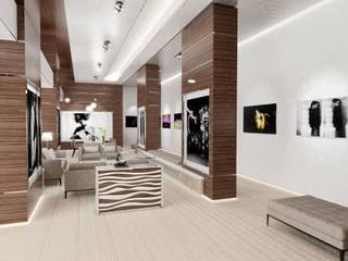 BeHuman Gallery par LASTA DESIGN STUDIO Moderne
