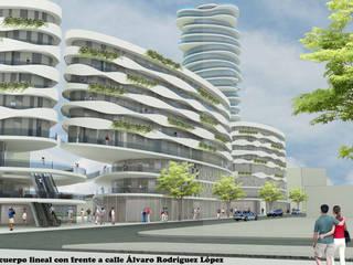 Concurso Disa Santa Cruz de Tenerife de Llar Proyectos de Arquitectura S.L. Moderno