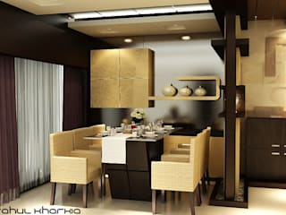 Dining Area:   by Effects Decors & Interiors