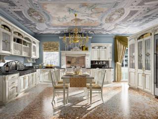 gold elite in stile di home cucine