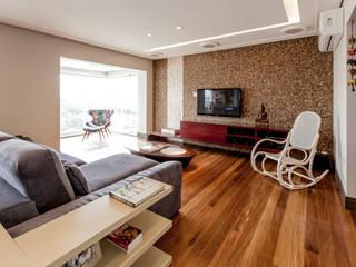 Living room by Tikkanen arquitetura, Modern