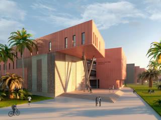 Nuevo Campus de la RSUST:  de estilo  de Asenjo y Asociados