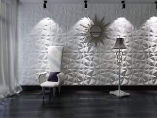 proyectos en general Comedores de estilo moderno de paneles3deco Moderno