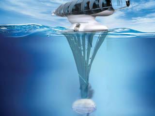 Personal Heaven miałby możliwość osadzania się na powierzchni wody: styl nowoczesne, w kategorii Jachty i motorówki zaprojektowany przez izabela jaroszek