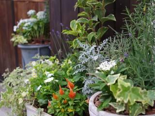 エントランスガーデン: Green Style Forestが手掛けた庭です。,モダン