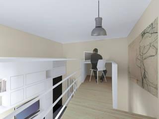 Casa a|v Studio moderno di Anna Marmo Architetto Moderno