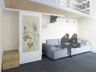 Casa a|v Soggiorno moderno di Anna Marmo Architetto Moderno