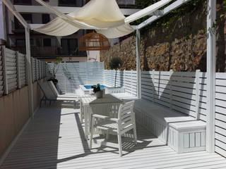Projekty,  Taras zaprojektowane przez Vicente Galve Studio,