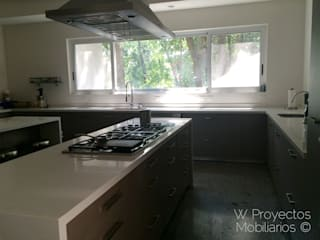 W Proyectos Mobiliarios KitchenBench tops