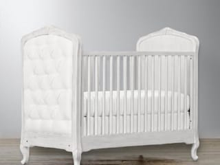 Upholstered Cotbed:   by Adorable Tots