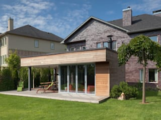 Banqueting house Дома в стиле минимализм от Kerimov Architects Минимализм
