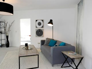 raum² - wir machen wohnen Salones de estilo industrial