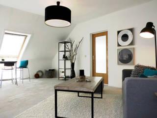 Salon industriel par raum² - wir machen wohnen Industriel