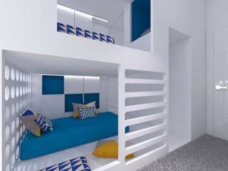 Dormitorios infantiles modernos de A+A Moderno